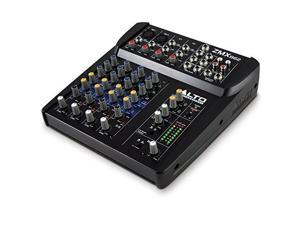 alto professional zmx862 | 6channel 2bus mixer with 12 inputs, 3band eq per channel & +48v phantom power