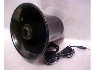 pa audio speaker weatherproof 12 watt 8 ohm horn black