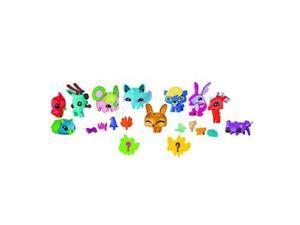 animal jam pet stop pals with exclusive gold bunny & 2 mystery pets adopt a pet set