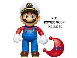 nintendo super mario captain mario 4 articulated figure with power moon