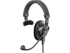 beyerdynamic dt280mkii200/250 lightweight singleear headset with hypercardioid gooseneck microphone, 250 ohms