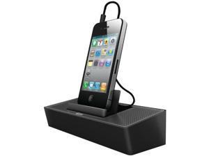 iluv modern box portable speaker standblack