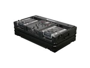 odyssey fz10cdiwbl 10in mixer / cd player case 10 inch dj mixer coffin