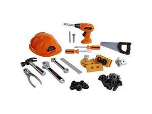 black and decker jr mega tool set  42 tools & accessories