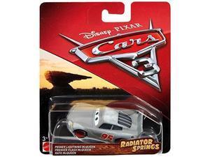 disney pixar cars radiator springs classic primer lightning mcqueen diecast vehicle