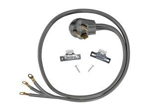 certified appliance accessories 3wire closedeyelet 30amp dryer cord, 6ft