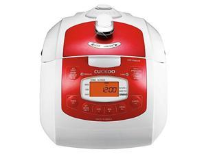 cuckoo electric pressure rice cooker crpfa0610fr red