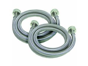 watts 2pbspw601212 sshose5ft2pk washer hoses 2pack