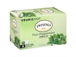 twinings of london pure peppermint tea kcups for keurig 48 count