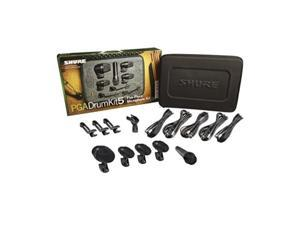 shure pgadrumkit5 5piece drum microphone kit