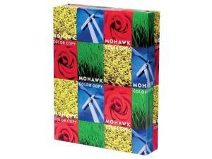 mohawk color copy 98 paper smooth finish 98bright, 28 lb, 8.5 x 11 inch, 500 sheets/ream  sold as 1 ream, bright white shade 12203