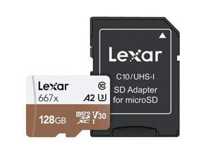 Lexar Professional 667x 128GB microSDXC Flash Card Model LSDMI128BNA667A