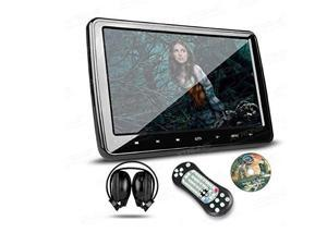 xtrons 10.1 inch hd digital screen car headrest dvd player ultrathin detachable touch button with hdmi port one ir headphone included