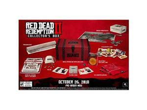 red dead redemption 2 collector's box  no game
