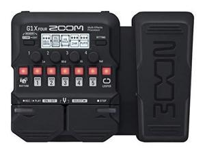zoom electric guitar multi effect g1x four