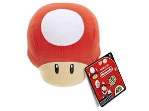 nintendo sfx plush  red power up mushroom