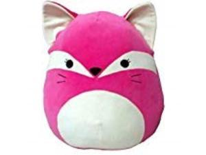 "squishmallow 16"" fifi the fox, hot pink"