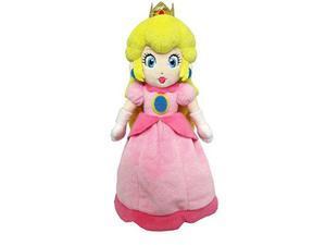 "sanei super mario all star collection  ac05  10"" princess peach small plush"