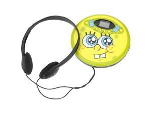 spongebob squarepants 37062 personal cd player yellow