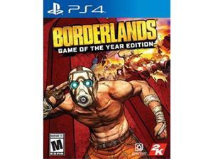 borderlands game of the year edition playstation 4 physical version