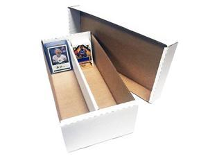 5 shoe 2 row storage box 1600 ct.  cardboard storage boxes  baseball, football, basketball, hockey, nascar, sportscards, gaming & trading cards collecting supplies by max pro