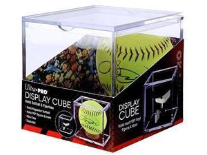 ultra pro softball display cube holder fits most vinyl funko pop! figures
