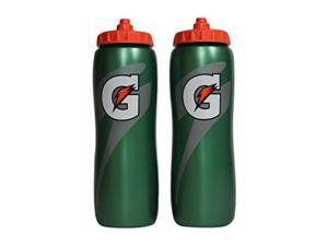 gatorade 32 oz squeeze water sports bottle pack of 2  new easy grip design