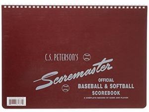 cramer scorebook, c.s. peterson's scoremaster, baseball and softball