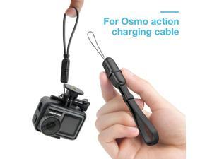 For DJI Osmo Action 4K Camera Creative USB Extender Data Sync Cable Adaptor Charging Cable Sports Camera Lanyard Data Cable