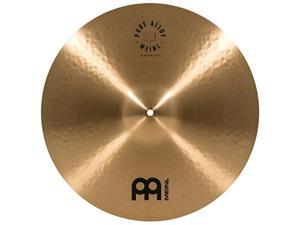 "meinl 18"" medium crash cymbal  pure alloy traditional  made in germany, 2year warranty pa18mc"