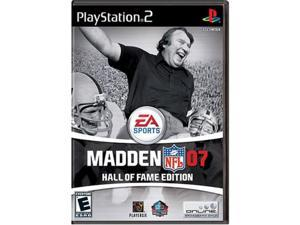 madden nfl 07 hall of fame edition  playstation 2