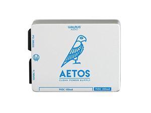 walrus audio aetos 8 output power supply, white/blue limited edition hanukkah aetos