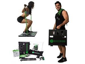 BodyBoss Home Gym 2.0 - Full Portable Gym Home Workout Package - Green