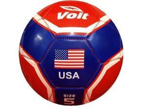 voit world cup soccer ball usa  size 5