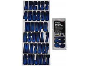 Hardline Products 800 Series Factory Matched Registration Decal Kit SIBLK800