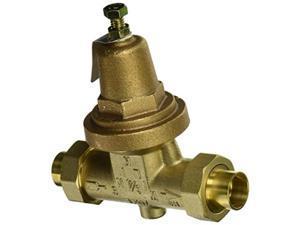 "zurn wilkins 3470xlduc double union female cu swt pressure reducing valve, 3/4"""