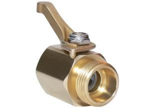 underhill cv075h super heavy duty brass shut off valve inch hose thread