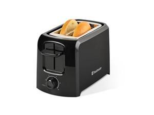 toastmaster tm24ts 2slice cool touch toaster, black