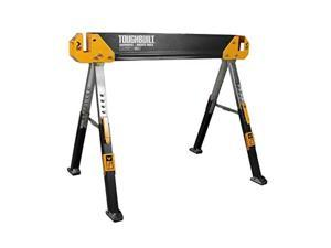 TOUGHBUILT Universal 124 in Miter Saw Stand GFCI Black Power Tool Heavy Duty