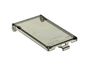 arlington industries dbvc1 wall plate cover, clear