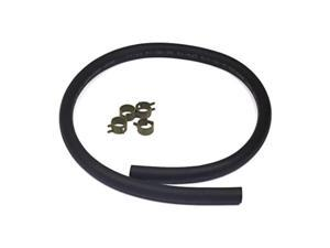 briggs & stratton 25inch fuel line with 4 clamps 5414k