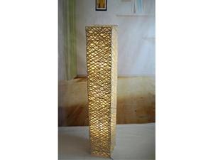 handmade bamboo rectangle floor lamp tku008l modern contemporary decor lighting living family bedroom