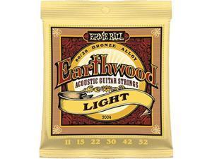3 pack | ernie ball guitar strings | acoustic | earthwood | light 1152