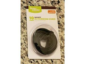 better homes&gardens quickfit 10foot extension cord