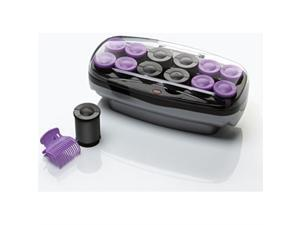 conair xtreme instant heat jumbo and super jumbo hot rollers; bonus super clips included   exclusive