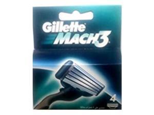 gllette mach 3 razor refill cartridges 4 count