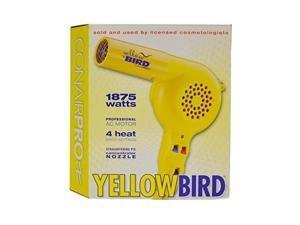 conair pro yellow bird hair dryer model: yb075w