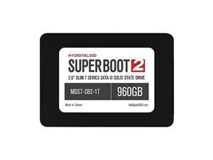 "mydigitalssd super boot 2 sb2 slim 7 series 7mm 2.5"" sata iii 6g ssd solid state drive 1tb 960gb"
