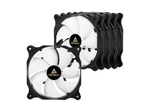 antec f12  high performance with low noise case fan, value pack 120mm 3pin 5 packs