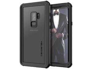 Ghostek Nautical Galaxy S9 Plus Waterproof Case with Screen Protector Slim Extreme Heavy Duty Protection Tough Shockproof Full Body Underwater Watertight Seal for 2018 Galaxy S9+ (6.2 Inch) - (Black)